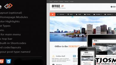 Office Responsive WordPress Theme Review