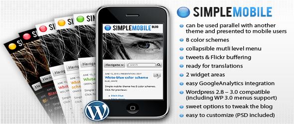 simple-mobile-wordpress-theme