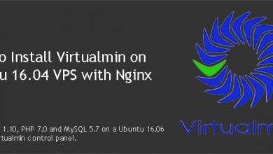 Install Virtualmin with Nginx