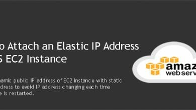 Attach an Elastic IP Address to AWS EC2 Instance