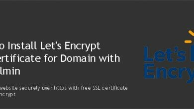 install Let's Encrypt SSL certificate with Virtualmin