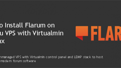 Install Flarum on Ubuntu VPS with Virtualmin & Nginx