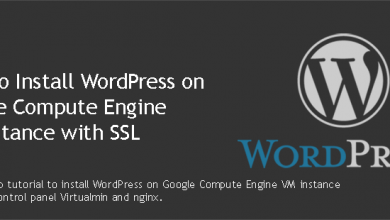 Install WordPress on Google Compute Engine
