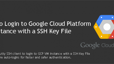 Login to GCP VM Instance with a SSH Key File