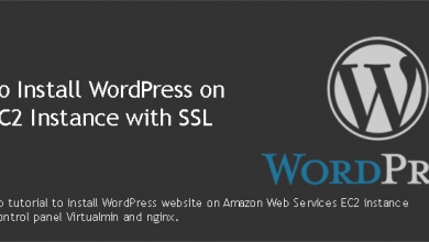 Install WordPress on AWS EC2 Instance with SSL