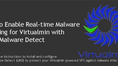 Real-time Malware Scanning for Virtualmin
