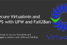 Secure Virtualmin and Ubuntu