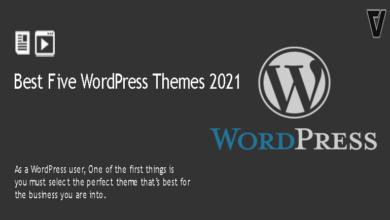 Best Five WordPress Themes 2021