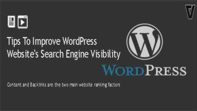 Tips To Improve WordPress Website's Search Engine Visibility