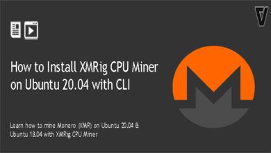 Install XMRig CPU Miner on Ubuntu 20